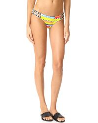 OndadeMar - Multicolor Azteca Strappy Low Rise Bottoms - Lyst