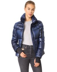 Sam. | Blue Freestyle Quilted Jacket | Lyst