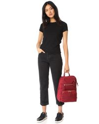 Tumi - Red Halle Backpack - Lyst