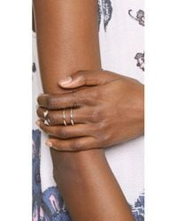 Vita Fede - White Super Ultra Mini Titan Ring - Lyst