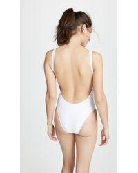 Vitamin A White X Lauren Bushnell Leah Bodysuit