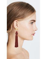 Lizzie Fortunato - Multicolor Sienna Luxe Tassel Earrings - Lyst