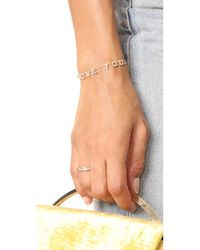 EF Collection - Metallic 14k Half Diamond Baguette Stack Ring - Lyst