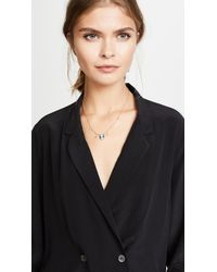 Jacquie Aiche - Metallic Cameo Necklace - Lyst