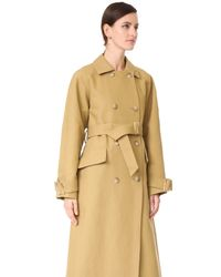 Tibi - Multicolor Trench Coat - Lyst