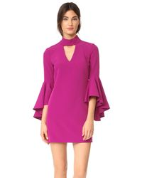MILLY - Multicolor Italian Cady Andrea Dress - Lyst