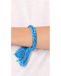 Shashi - Blue Celine Cuff Bracelet - Lyst