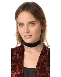 Vanessa Mooney - Metallic The London Choker Necklace - Lyst
