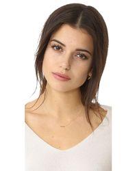 Zoe Chicco - Metallic Babe Short Pendant Necklace - Lyst