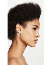 Alexis Bittar - Metallic Crystal Encrusted Freshwater Cultured Pearl & Petal Clip On Earrings - Lyst