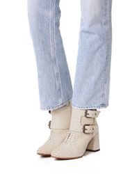 Freebird by Steven - Natural Joey Booties - Lyst