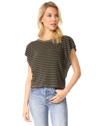 Splendid | Multicolor French Stripe Tee | Lyst