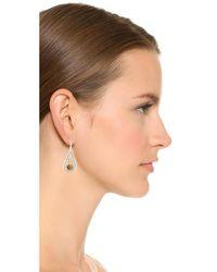 Pamela Love - Metallic Rhea Drop Earrings - Lyst