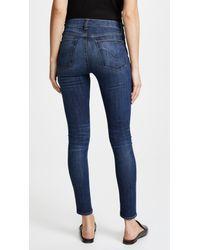 Hudson - Blue Barbara High Waisted Skinny Jeans - Lyst
