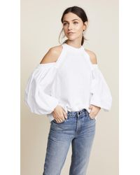Free People - White Catch A Glimpse Sweater - Lyst