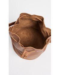 Baggu - Brown Drawstring Bucket Bag - Caramel - Lyst