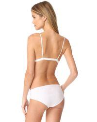 Anine Bing - White Lace Bra - Lyst