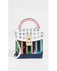 The Volon - Multicolor Rainbow Box Bag - Lyst