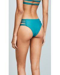 Mikoh Swimwear - Blue Velzyland Bikini Bottoms - Lyst