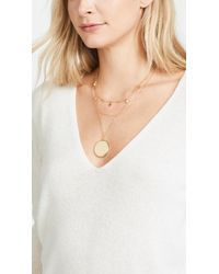BaubleBar - Metallic Andromeda Layered Pendant Necklace - Lyst