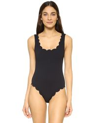 006d2a9bb1 Marysia Swim Palm Springs Maillot in Black - Lyst