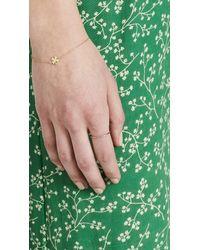 Jennifer Meyer - Green 18k Gold Thin Emerald Ring - Lyst