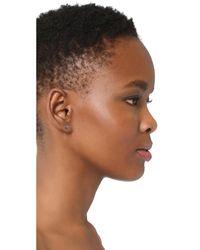 Dana Rebecca - Black Lauren Joy Stud Earrings - Lyst