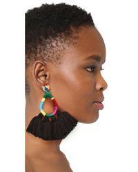 All Things Mochi - Black The Hallu Earrings - Lyst