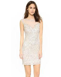 Parker - White Black Montclair Dress - Lyst