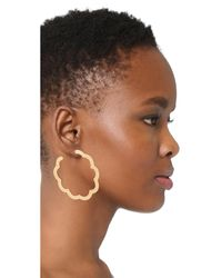 Gas Bijoux - Metallic Bold Earrings - Lyst