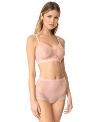 Spanx - Pink Lace Bralette - Lyst