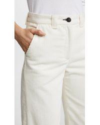 Rag & Bone - White Lari Corduroy Pants - Lyst