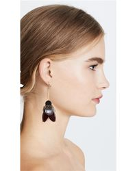 Marni | Multicolor Earring Petals And Strass | Lyst