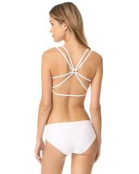 Free People - White Melt With You Seamless Bra - Lyst