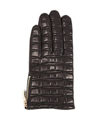 Kate Spade - Black Bow Quilted Tech Gloves - Lyst