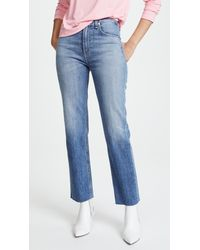 Rag & Bone - Blue The Straight Leg Jeans - Lyst