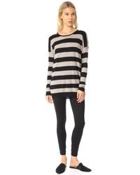 Vince | Black Wool And Cashmere Sweater | Lyst
