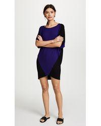 Zero + Maria Cornejo - Blue Rio Mini Dress - Lyst