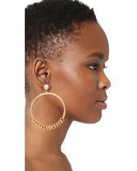 Gas Bijoux - White Sorane Earrings - Lyst