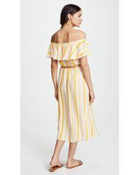 Eberjey - Multicolor Painted Stripe Florence Dress - Lyst