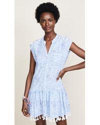 Poupette - Blue Elodie Mini Dress - Lyst
