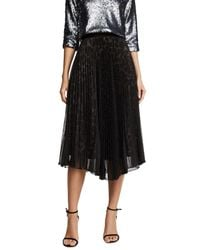 Loyd/Ford - Black Two Layer Pleated Skirt - Lyst