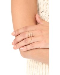 ONE SIX FIVE Jewelry - Metallic The Wave Ring - Lyst