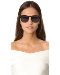 Le Specs - Black Polarized No Biggie Sunglasses - Lyst