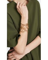 Joanna Laura Constantine - Metallic Multi Knot Statement Cuff Bracelet - Lyst
