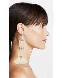 All Things Mochi - White Aitana Earrings - Lyst