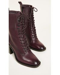 Frye - Multicolor Pia Heeled Combat Boots - Lyst