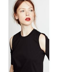Dion Lee - Black Utility Contour Tee - Lyst