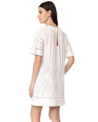 Theory - White Idetteah Dress - Lyst