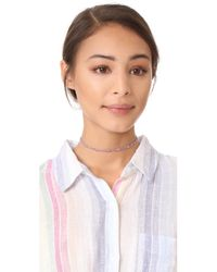 Gorjana - Multicolor Marlow Beaded Choker Necklace - Lyst